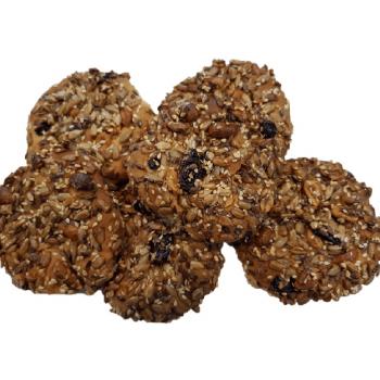 Biscuiti cu seminte si stafide 100g - GustOriental.ro