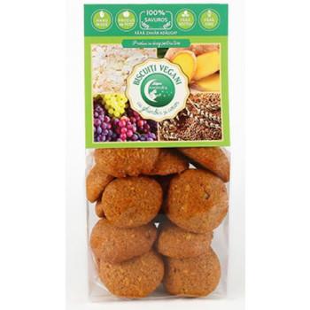 Biscuiți vegan cu ghimbir și cocos 150g - GustOriental.ro
