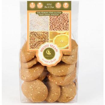 Biscuiți vegan cu năut-lămâie 150g - GustOriental.ro