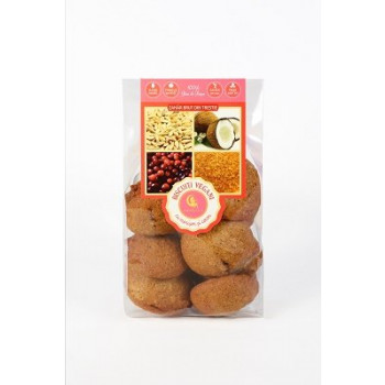 Biscuiți vegan merișor-cocos 150g - GustOriental.ro