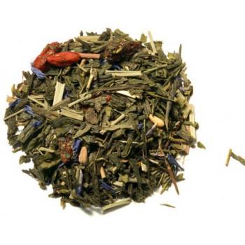 Ceai verde cu goji 100g - GustOriental.ro