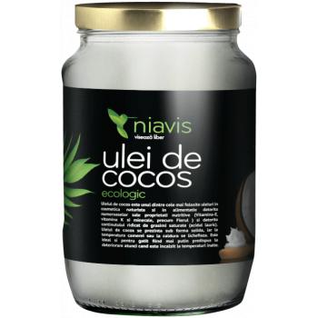 Niavis Ulei de Cocos Extra Virgin Ecologic/BIO 450g/565ml - GustOriental.ro