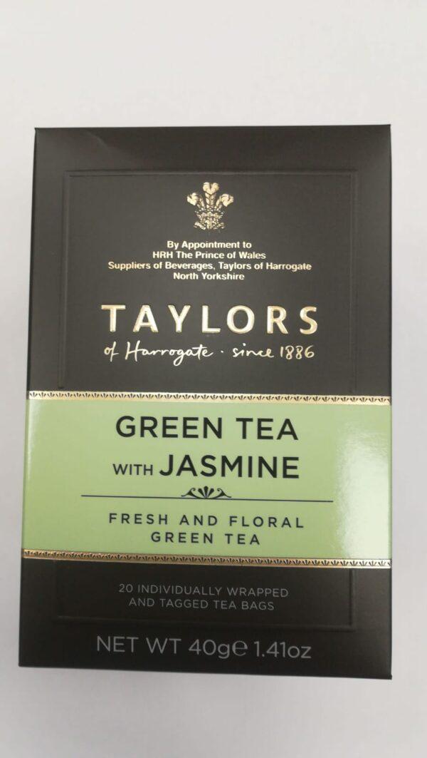 """Ceai verde """"Green Jasmine"""" (plicuri) 1"""