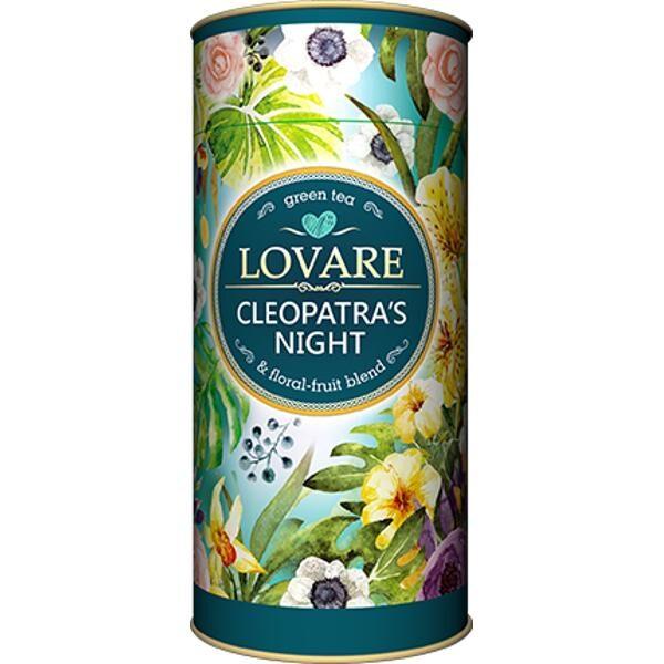Cleopatra's night Amestec de ceai verde, petale de flori și fructe 1