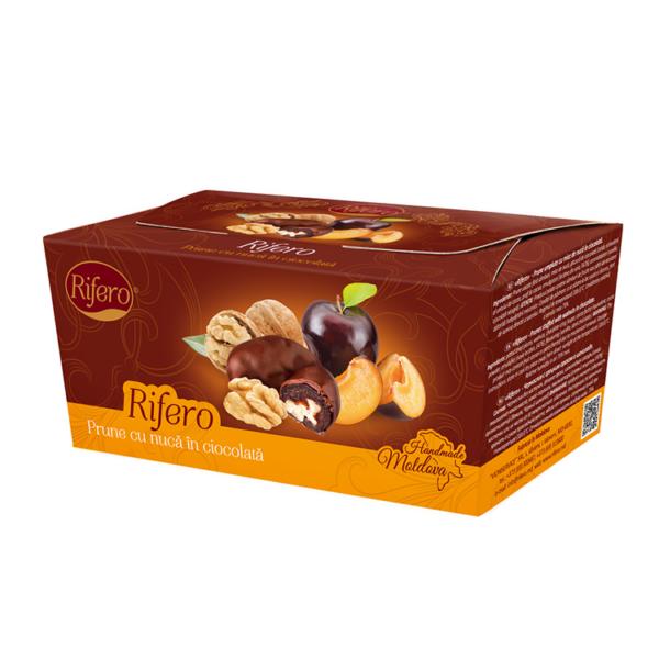 """Prune cu nuca in ciocolata """"Rifero"""" 230g 1"""